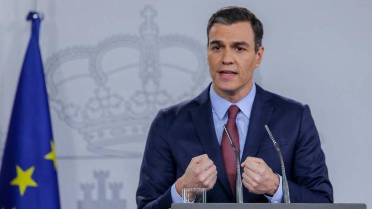 Spain's PM Pedro Sánchez has pledged millions in coronavirus relief.