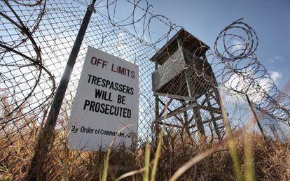 Camp X-Ray, where the first inmates at Guantánamo Bay were held.