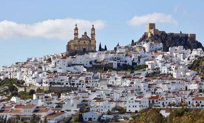 Olvera, a white village in Cádiz.