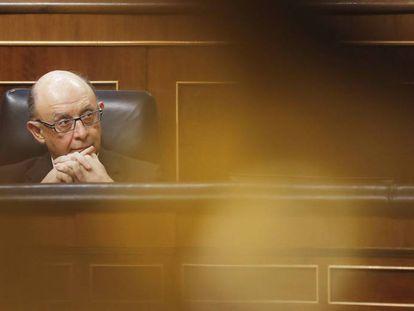 Spanish Finance Minister Cristobal Montoro.