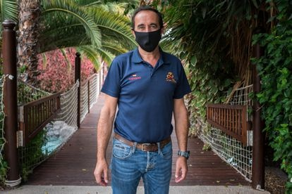 Rafael Márquez, technical director at the Siam Park water park in Adeje, Tenerife.