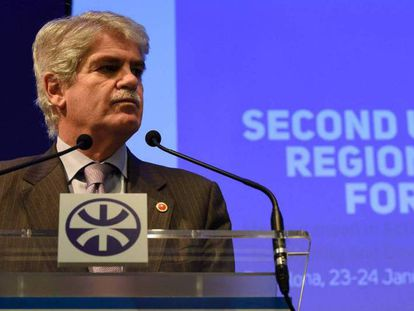 Spanish Foreign Minister Alfonso Dastis on Monday.