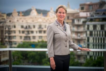 The scientist Frances Arnold in Barcelona.