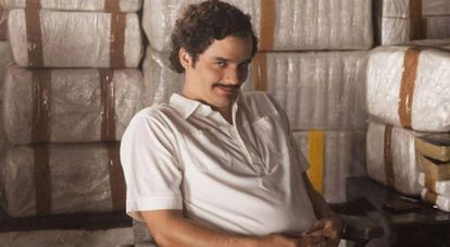 Wagner Moura as Pablo Escobar in the Netflix show 'Narcos'.