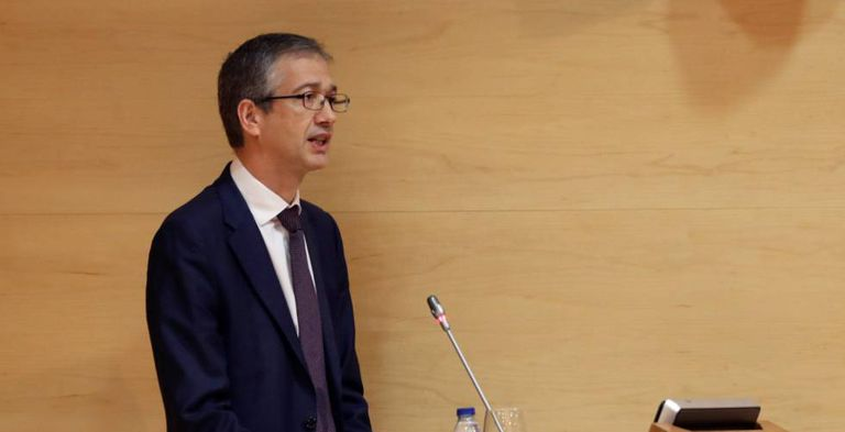 Bank of Spain governor Pablo Hernández de Cos.