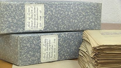 Files on the purge of railway workers during Franco's regime.