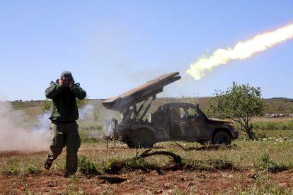 A rebel fighter from Ahrar al-Sham in Idlib last April.