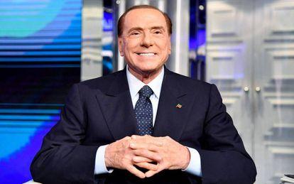 Silvio Berlusconi in Rome in March 2018.