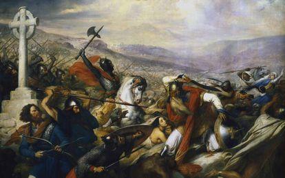 'The Battle of Poitiers' byCharles de Steuben.