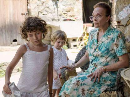 Scene from the Catalonian film 'Estiu 1993'.