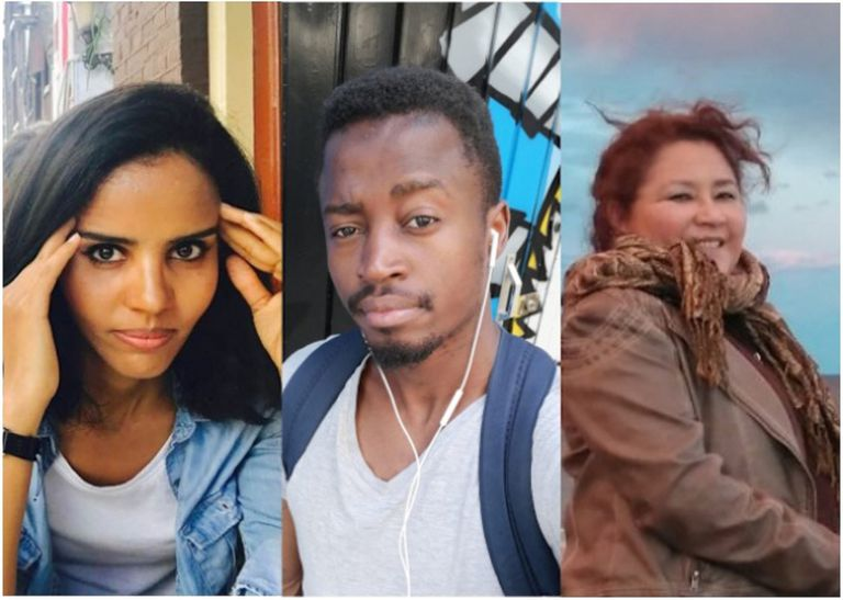 Three victims of racist realtors in Spain.