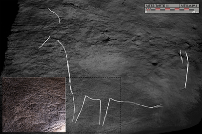 These bison paintings date back 27,000 years.