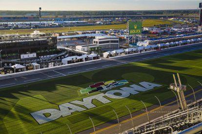 The Daytona circuit, in Florida.