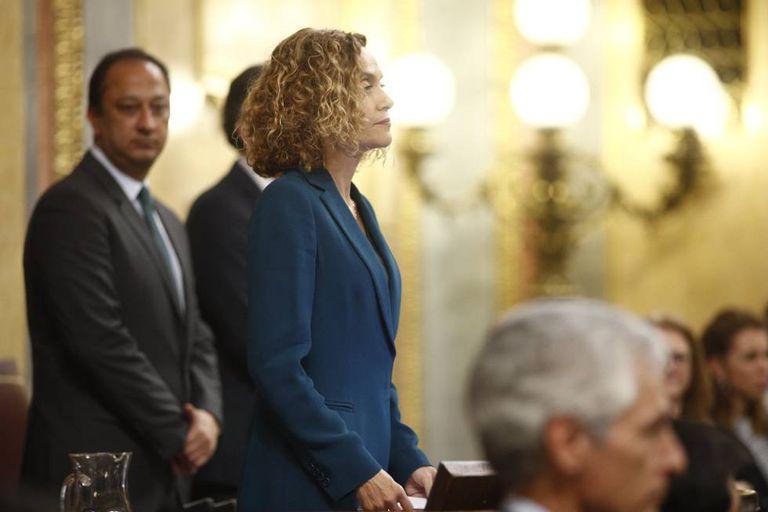 Meritxell Batet, the new speaker of Congress.