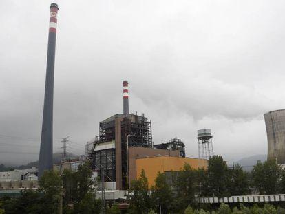 Coal plant in Asturias.