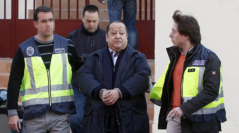 Alfonso Tezanos, seen during his arrest this week.