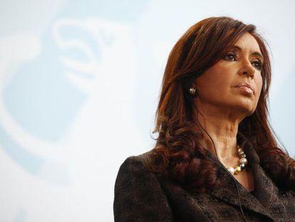 Argentinean President Cristina Fernández de Kirchner.