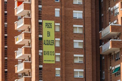 Apartments for rent in Barcelona.