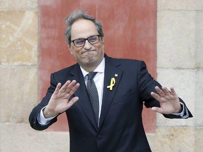 The new Catalan premier, Quim Torra.