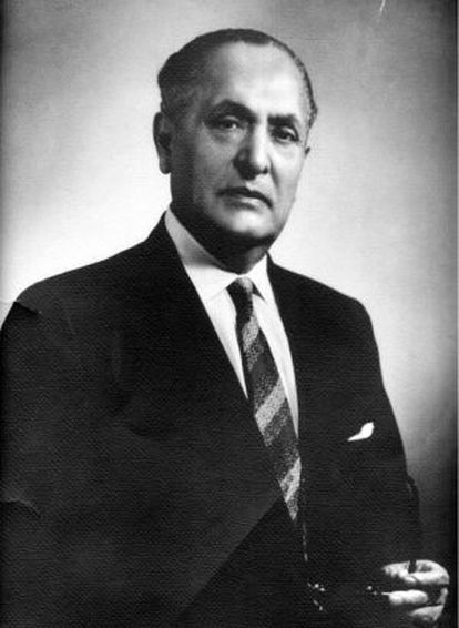 Gilberto Bosques, the Mexican ambassador in Lisbon who helped thousands of Spaniards flee from repression.