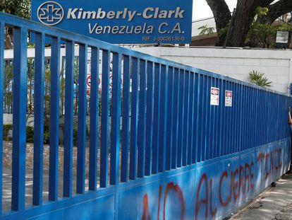 Kimberly-Clark's plant in Venezuela.