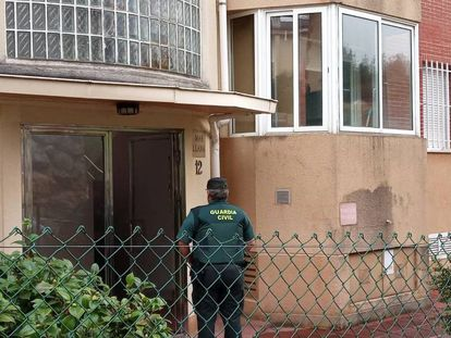 The property in Castro Urdiales where the suspect lived.