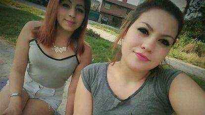 Murder victims Denise Juárez (17), left, with her friend Sabrina Barrientos (15).