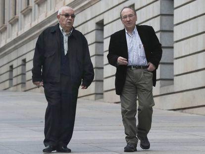 Political prisoners Víctor Díaz and Raúl Herrero.