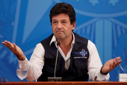 Former Health Minister Luiz Henrique Mandetta.
