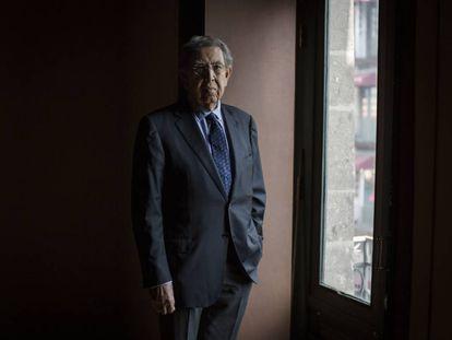 Cuauhtémoc Cárdenas, pictured in Mexico City.