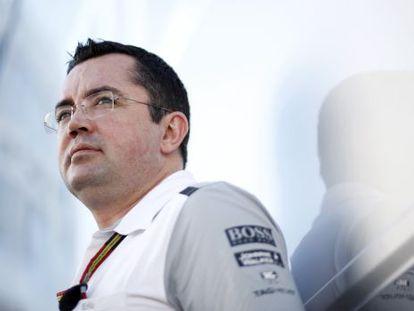 McLaren racing director Eric Boullier.