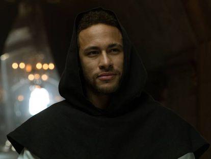 "Neymar makes a cameo in ""Money Heist'""."