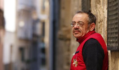Diego Neria met Pope Francis last month after writing him a letter.