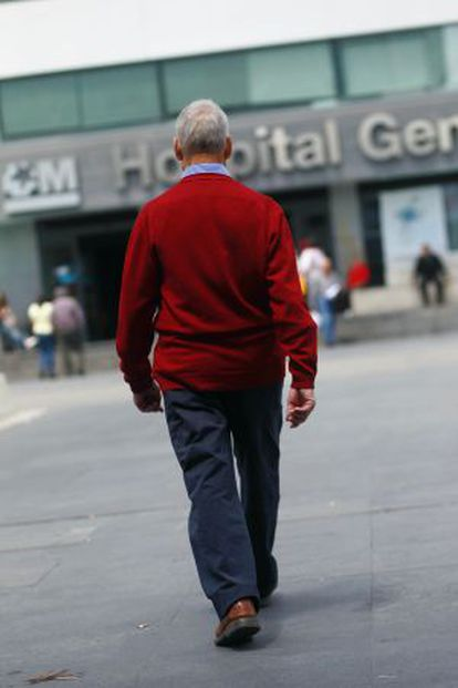 M. González, 77, suffers from prostate cancer.