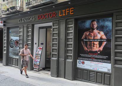 Doctor Life clinic in the Chueca neighborhood of Madrid.