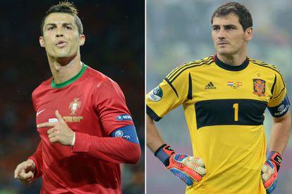 Real rivals: Portuguese forward Cristiano Ronaldo and Spanish goalkeeper Iker Casillas.