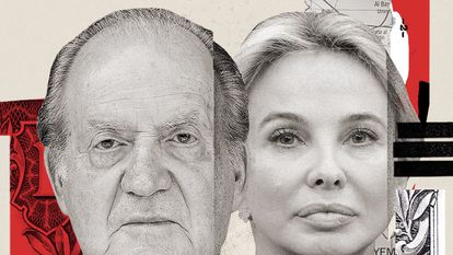 Corinna Larsen planned for 30% of income from a Spanish-Saudi fund to be bequeathed to former Spanish king Juan Carlos I