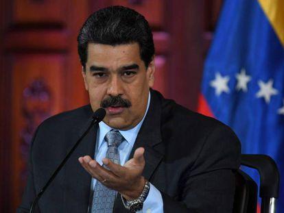 Venezuelan President Nicolás Maduro in a file photo.