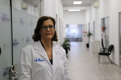 Magda Campins, head of epidemiology at the Vall d'Hebron hospital in Barcelona.