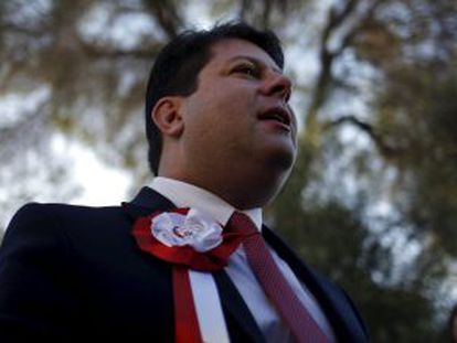 Gibraltar chief minister Fabian Picardo has won another four years in office.