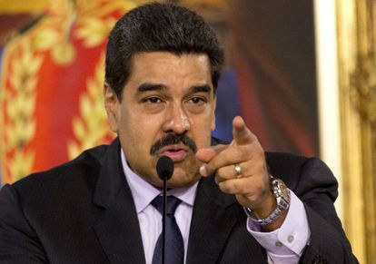 Venezuelan President Nicolás Maduro.
