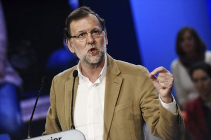 The latest voter intention poll shows PM Mariano Rajoy's PP on top.