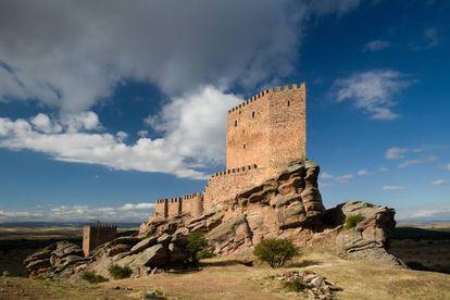 Zafra Castle, in Guadalajara. Francisco Javier Sobrino AGE.