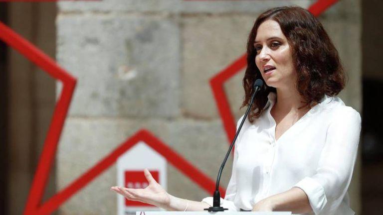 Madrid premier Isabel Díaz Ayuso.