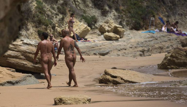 Caños de Meca, Cadiz, attracts many nudists.