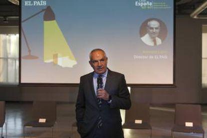 EL PAÍS editor-in-chief Antonio Caño at the event.