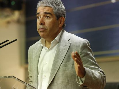 Francesc Homs, thel PDC's spokesman in Congress.