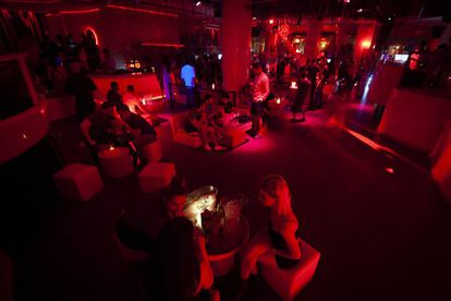The dance floor at Pachá nightclub in Barcelona on Saturday.