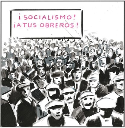 """""""Socialism!""""""""For your workers!"""""""