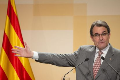 Artur Mas presents his plans for the rest of his current term on Tuesday.